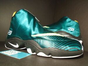 7bfcf2edb84 Details about 2013 Nike Air ZOOM FLIGHT THE GLOVE QS GARY PAYTON SOLE  COLLECTOR GREEN BLACK 10