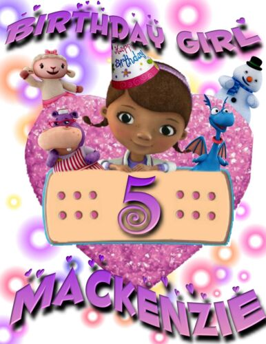 Personalized Doc McStuffins Personalized Birthday T-Shirt Party Favor