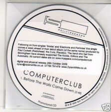 (M737) Computer Club, Before The Walls Came Down- DJ CD