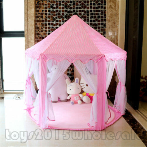 2019 New Girls Princess Tent Castle Playhouse Children Outdoor Toys Doll Gifts A