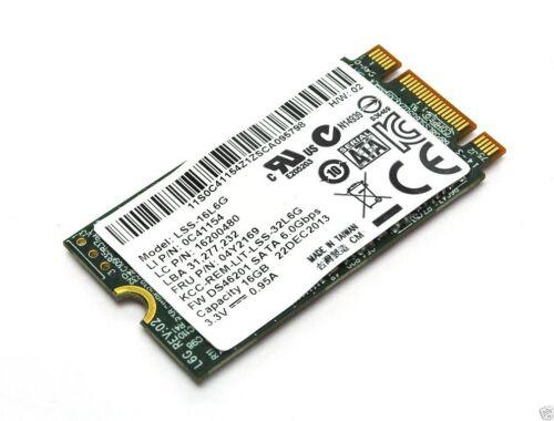 New Genuine Lenovo ThinkPad L540 2242-D3-B-M LiteOn M.2 L6G-16 16GB SSD 04X4483