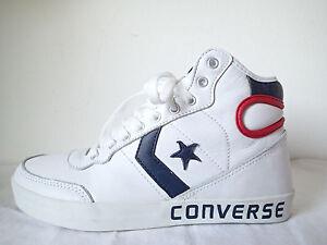 White Break 112780 Pelle Alte Converse Fast High Hi Star Bianche 2 Leather All qtxYURvwnZ