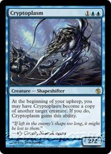 CRYPTOPLASM Mirrodin Besieged MTG Blue Creature — Shapeshifter RARE