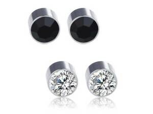 c5524d75162 Image is loading 1-PAIR-MAGNETIC-CLIP-ON-DIAMANTE-EAR-NOSE-