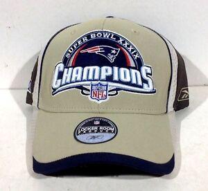 Rare Super Bowl XXXIX 39 New England Patriots Champions Locker Room ... d229989da
