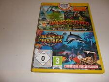 PC  Wimmelbild Spiele: Undiscovered World / Treasure Masters