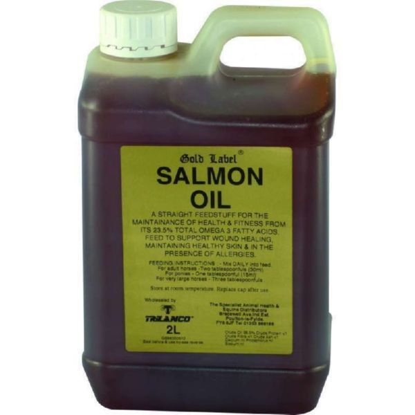 gold LABEL SALMON OIL 1lt or 2lt maintaining optimum immune status