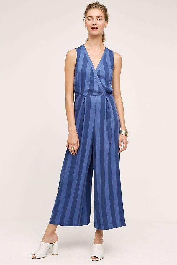 Anthropologie Nomad By Morgan Carper Marina Jumpsuit Size Small New MSRP   168