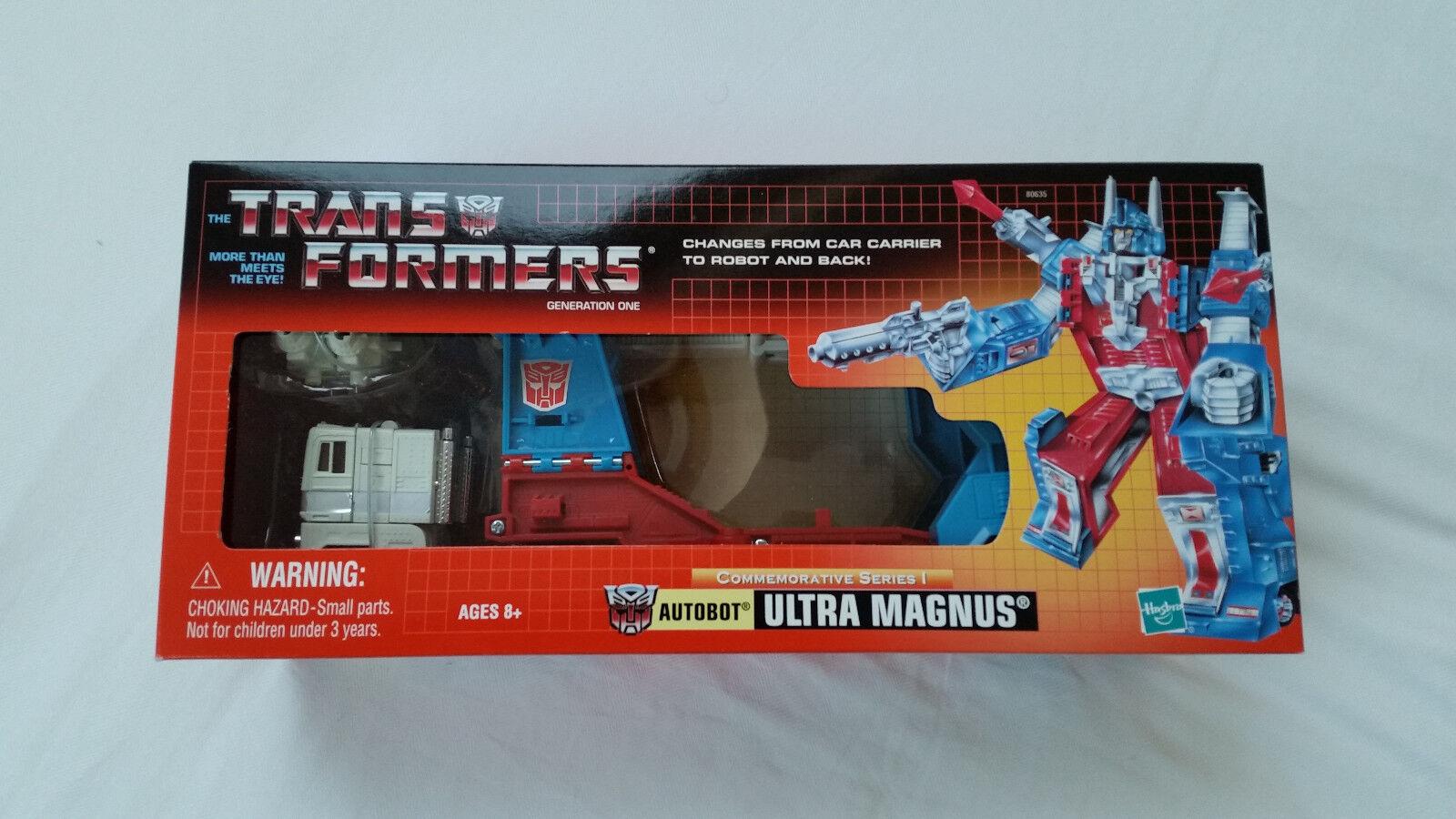 Transformers Reedición Ultra Magnus Y En Caja Sellada