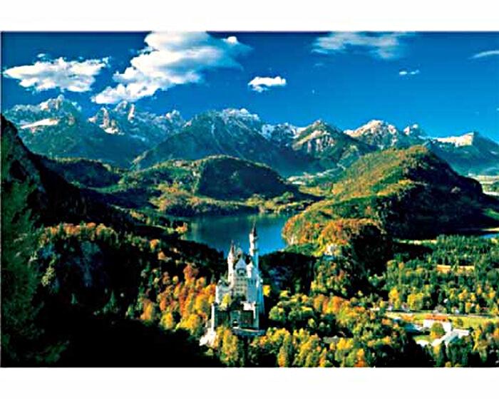 Trefl 26048. Puzzle 1500 parts. Castle Neuschwanstein