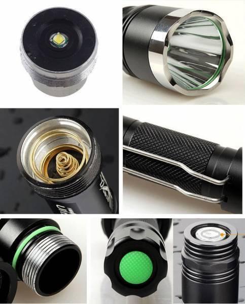 Taschenlampe CREE XM-L T6 LED Taschenlampe TORCH TORCH TORCH 5 Modi ultra HELL Reichw.1000M 5ccd8a
