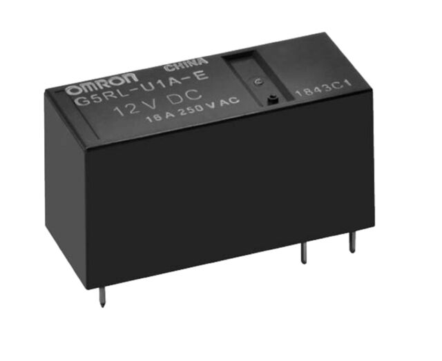 Bistable Latching Relay SPDT 5V Coil, 16A, Omron - Fast  Delivery