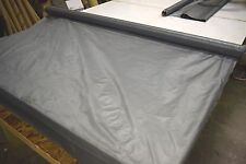 """2NDS FABRIC GREY 1.35 OZ NYLON RIPSTOP 30D FABRIC 62"""" BREATHABLE SOLD BTY"""
