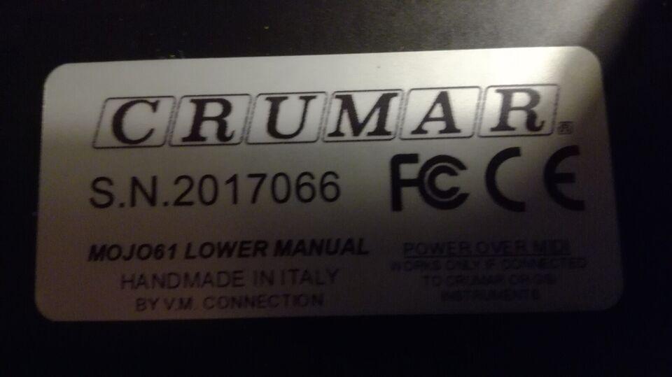Hammondorgel, Crumar, Mk 61 Lower manuel
