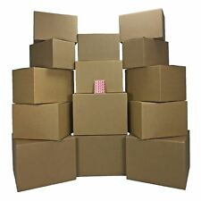 Uoffice Moving Kit 2 14 Combo Of Small Medium Large Boxes And Labels