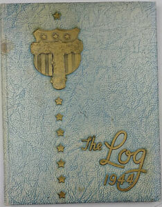 The-Log-1944-Murray-F-Tuley-High-School-Yearbook-Chicago-IL-Signed