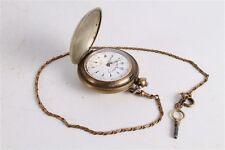 Antique Vintage Old Ottoman Turkish K. Serkisoff Mens Full Hunter Pocket Watch.