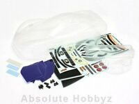 Kyosho Clear Body Set w/ Decals and Wing (Corvette C6-R) (GT2) - KYOIGB152B