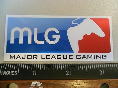 "3.25"" MAJOR LEAGUE GAMING, GAMER video game contoller, STICKER Playstation, xbox"