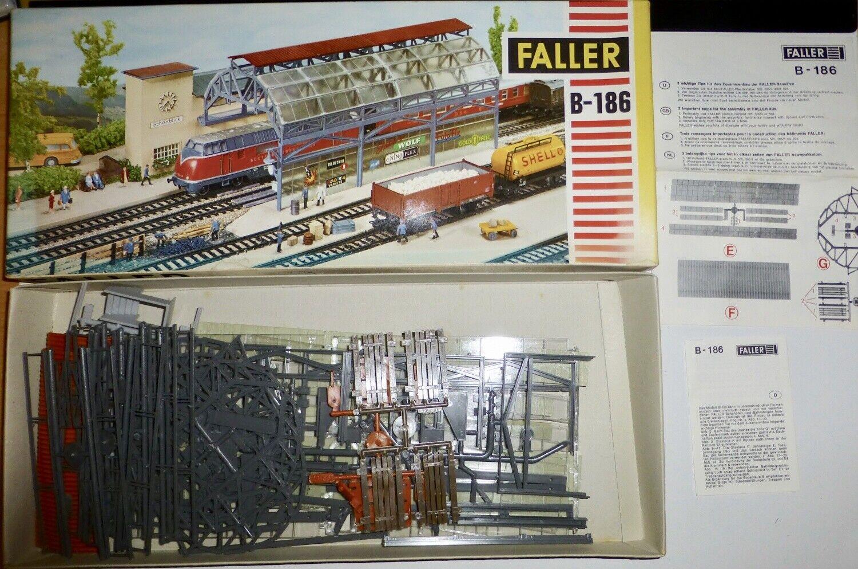 Faller AMS b-186 Room Station Rebuilt Conf. Orig. h0 1 87 hc5 å