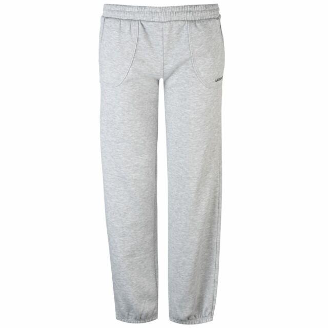 253eb4382f3173 La Gear Jog Pants Sport Running Jogging Joggers Womens Ladies Grey ...
