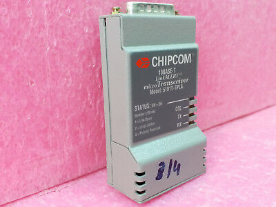 Chipcom 10base-t 5101t-tpla Linkalert Micro Transceiver Switch BüGeln Nicht