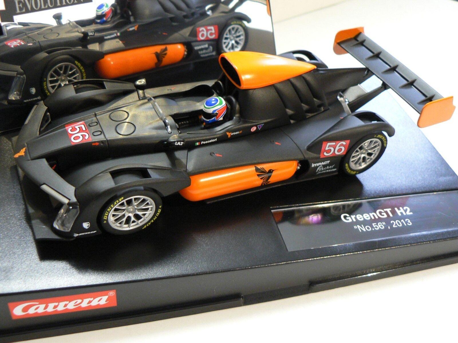 Carrera Evolution 27448 Greengt H2 No. 56 2013 Neu