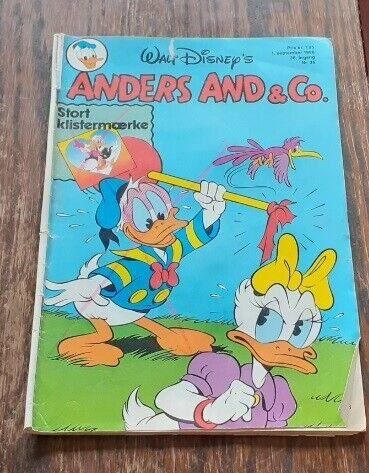 WALT-DISNEY's ANDERS AND NR. 36 - 1986, Walt Disney,