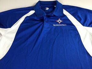 Walton-Football-Polo-Shirt-Mens-XL-2XL-Raiders-Georgia-High-School-Dri-Fit-Grad