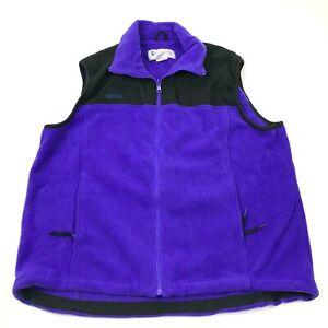 VINTAGE-Columbia-Vest-Sweater-Men-039-s-Size-Extra-Large-XL-Sleeveless-Fleece-Jacket
