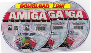 CU AMIGA Magazine Full Collection PDF DOWNLOAD A1200/A500/600/CD32/A4000 Games