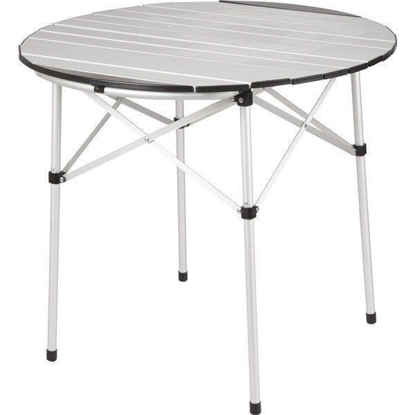Lightweight Folding Slatted Aluminium Camping & Awning Table   Royal Blenheim