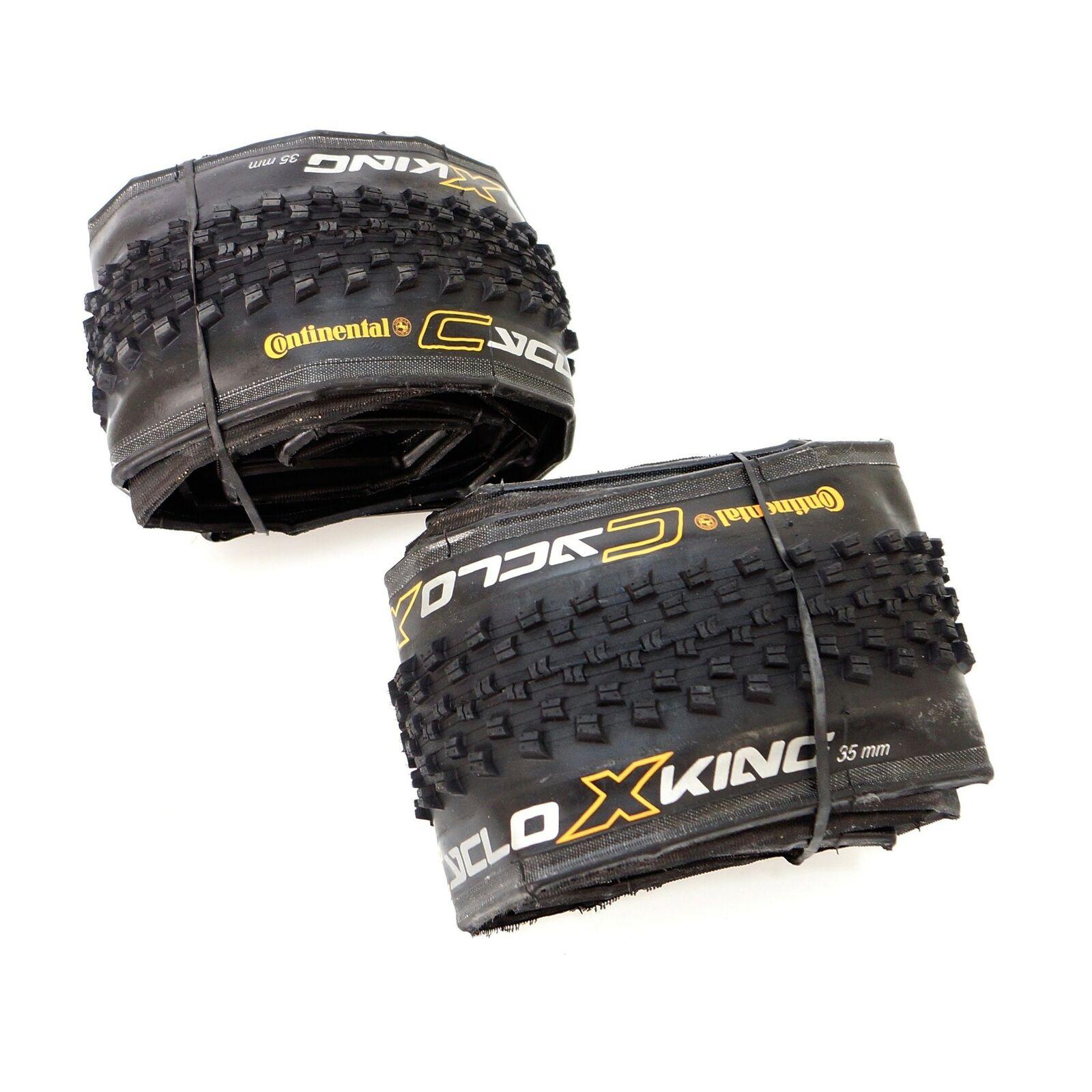 Continental Cyclo X-King Folding Bicycle Tire 700 x 35C Cross Road