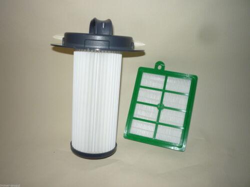 Filter Set Hepafilter Zylinderfilter passend f Philips Serie Marathon FC6085//01
