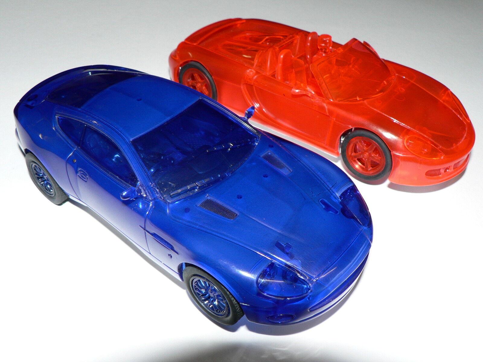2 Carrera Evolution Vehicles Porsche GT+ Aston Martin Light Speed NEW