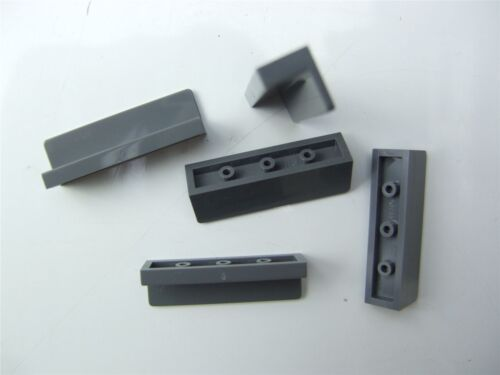 - 6092649 5 x Lego Grey Wall element size 1x4x1 Parts /& Pieces