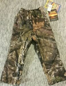 ca447797d4d16 Image is loading YOUTH-S-MOSSY-OAK-HUNTING-PANTS-WATERPROOF-BREATHABLE