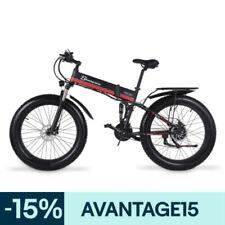 """26"""" vélo électrique 1000W 48V ville bike pliant gros pneu pédale assistée VTT EU"""