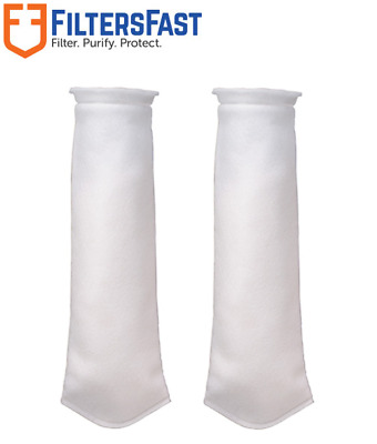 SpiroPure Replacement for Pentek BP-420-25 155390-03 Size #4 Polypropylene Bag Filter 25 Micron Case of 40