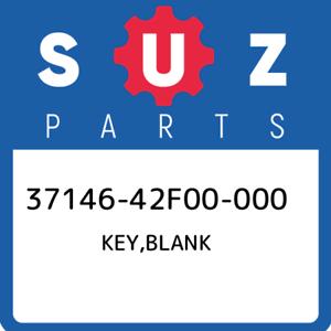 37146-42F00-000-Suzuki-Key-blank-3714642F00000-New-Genuine-OEM-Part