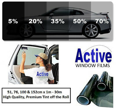 Smoke Tinted Window Film Very Light Privacy Tint 70/% up to 152 cm