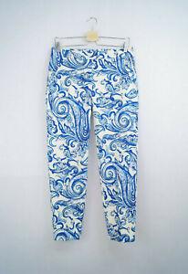 Trucco-Damen-Hose-Capri-7-8-Pants-Damenhose-Muster-NEU-38-40