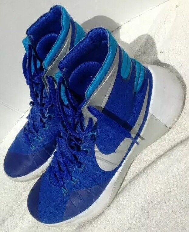 Used NIKE HYPERDUNK Men's Basketball shoes Size 11 blueeWhite 749645 404
