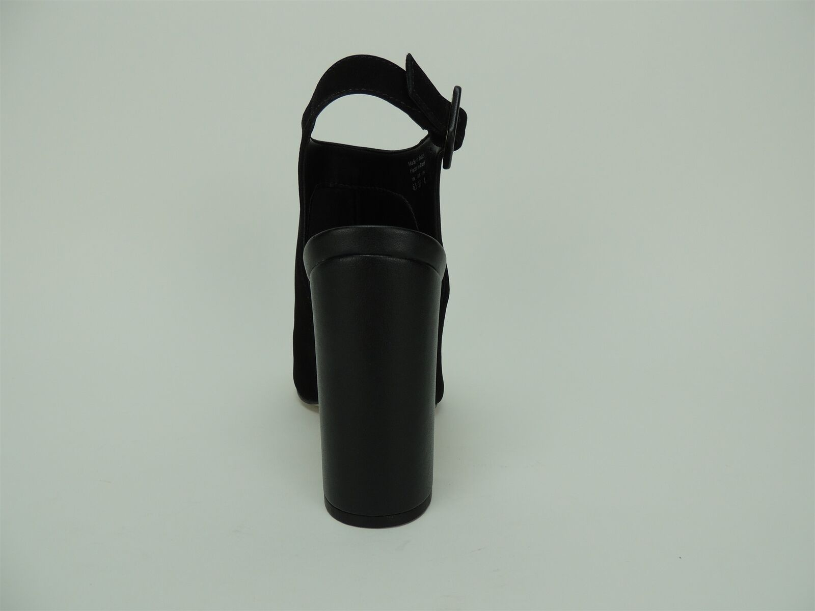 ALDO Women's Juliusa Slingback Mule Mule Mule Black Nubuck Size 6.5 M 9014d4