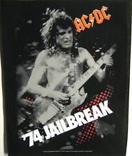 "AC/DC RÜCKENAUFNÄHER / BACKPATCH # 12 ""74 JAILBREAK"""