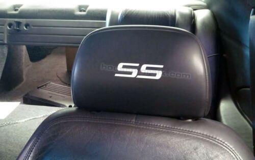 Chevy Cobalt Impala Trailblazer SS headrest head rest decal decals sticker