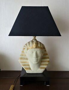 belle-lampe-pharaon-en-terre-cuite