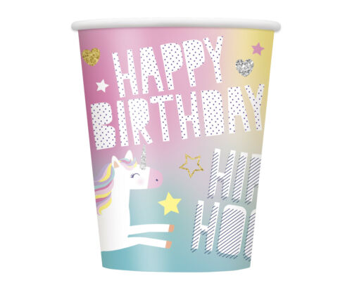 Unicorn Party Girls Birthday Tableware Range Party Balloons Banners Decorations