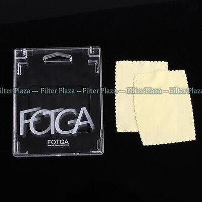 FOTGA Optical Glass Rigid LCD Screen Protector For Pentax K01 K-01 DSLR Camera