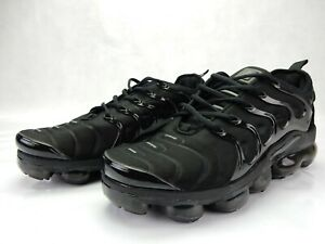 9942b8eb68355 Nike Air Vapormax Plus Triple Black Shoe 924453 004 Mens Sneakers ...